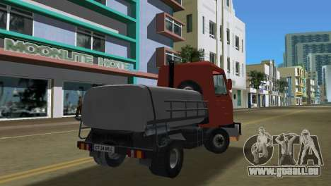 Multicar pour GTA Vice City sur la vue arrière gauche