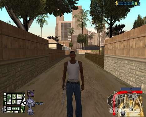 C-HUD by Mark Osborne für GTA San Andreas dritten Screenshot