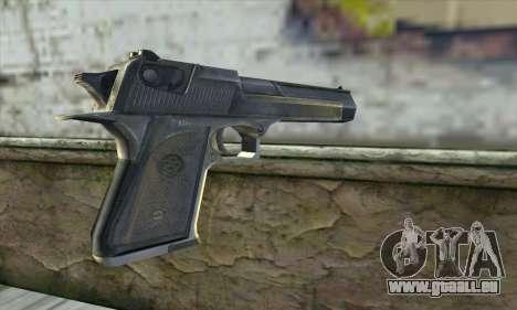 Le pistolet de Stalker pour GTA San Andreas deuxième écran