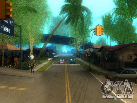 New Grove Street v2.0 pour GTA San Andreas deuxième écran