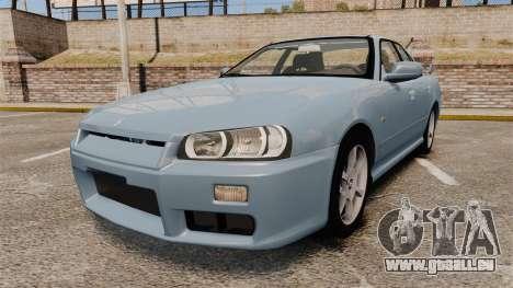 Nissan Skyline ER34 GT25 für GTA 4