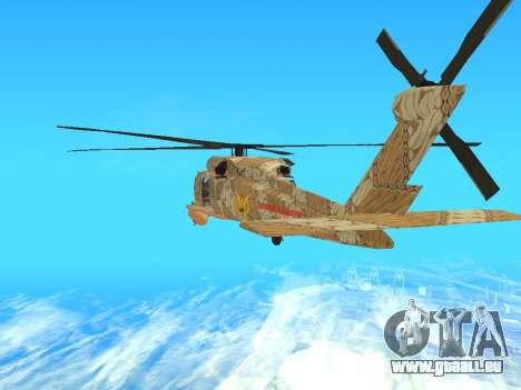 SH-60  Batik Indonesia für GTA San Andreas rechten Ansicht