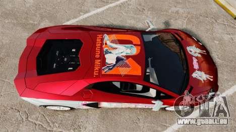 Lamborghini Aventador LP700-4 2012 [EPM] Miku 2 pour GTA 4 est un droit