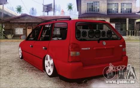 Volkswagen Parati SPS Club pour GTA San Andreas laissé vue