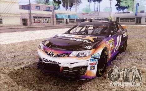 Toyota Camry NASCAR Sprint Cup 2013 für GTA San Andreas Innenansicht