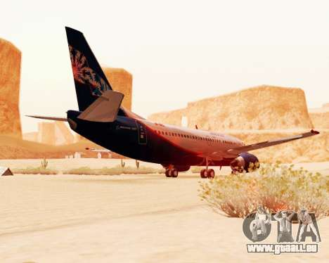 Boeing 737-500, Aeroflot Nord pour GTA San Andreas vue arrière