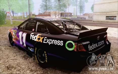 Toyota Camry NASCAR Sprint Cup 2013 für GTA San Andreas Seitenansicht