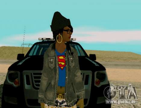 Girl Swagg pour GTA San Andreas