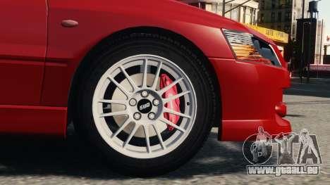 Mitsubishi Lancer Evolution IX für GTA 4 linke Ansicht
