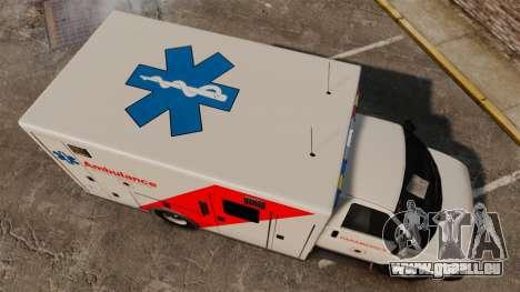 Brute Speedo RLMS Ambulance [ELS] für GTA 4 rechte Ansicht