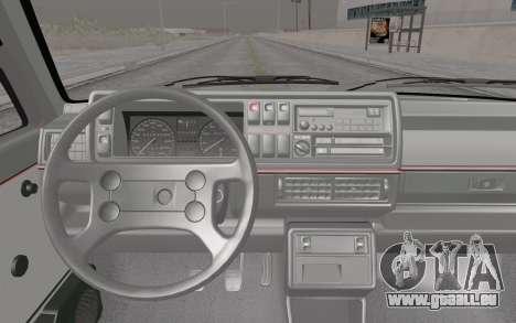 Volkswagen Golf Mk 2 pour GTA San Andreas vue de droite