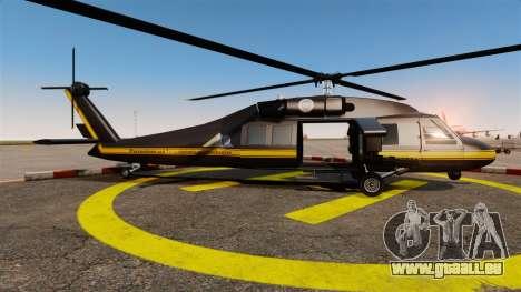 GTA V Annihilator für GTA 4 linke Ansicht