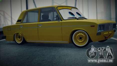 VAZ 2106 par Les Voitures pour GTA San Andreas laissé vue