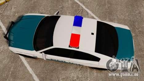 Dodge Charger 2013 Patrol Supervisor [ELS] für GTA 4 rechte Ansicht
