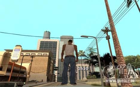 Changement de gamme de rendu pour GTA San Andreas deuxième écran