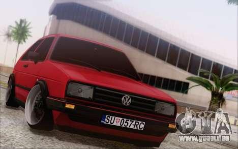 Volkswagen Golf Mk 2 pour GTA San Andreas