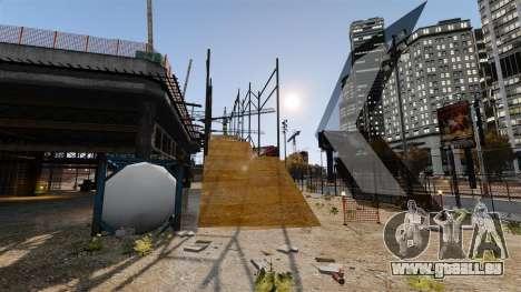 Hors-route sur piste pour GTA 4 troisième écran