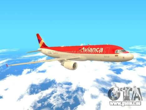 Airbus A320 Avianca Columbia pour GTA San Andreas