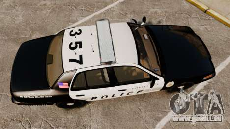 Ford Crown Victoria LCPD [ELS] für GTA 4 rechte Ansicht