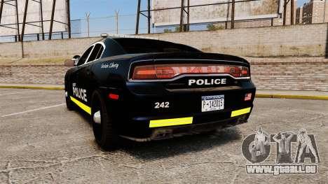 Dodge Charger 2013 LCPD [ELS] für GTA 4 hinten links Ansicht