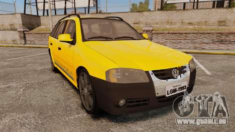 Volkswagen Parati G4 Track and Field 2013 pour GTA 4