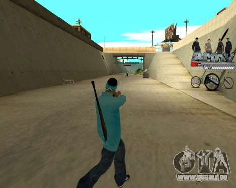 Agrandisseur de gamme entailles pour GTA San Andreas deuxième écran