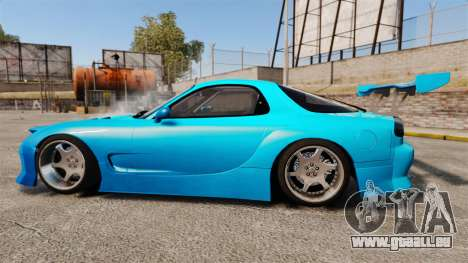 Mazda RX-7 Super Edition pour GTA 4 est une gauche