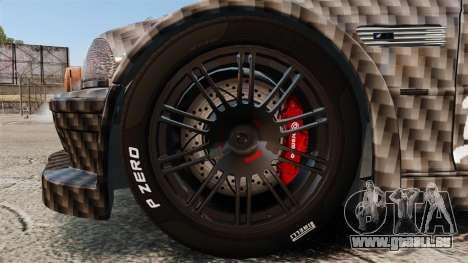 BMW M3 GTR 2012 Drift Edition für GTA 4 Rückansicht