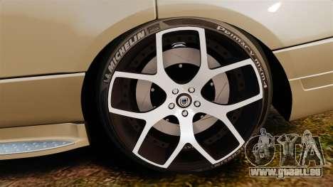 Range Rover Supercharger 2008 für GTA 4 Rückansicht