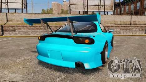 Mazda RX-7 Super Edition pour GTA 4 Vue arrière de la gauche