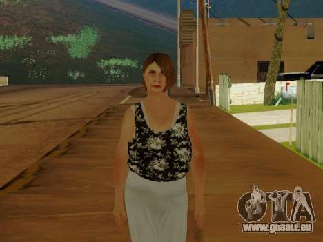Eine ältere Frau v.2 für GTA San Andreas