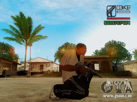 Die Maschinenpistole UZI für GTA San Andreas zweiten Screenshot