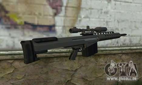 GTA V Heavy sniper pour GTA San Andreas deuxième écran