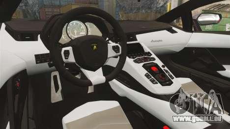 Lamborghini Aventador LP700-4 2012 [EPM] Miku 2 pour GTA 4 est une vue de l'intérieur