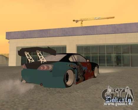 Nissan 150sx Evil Empire pour GTA San Andreas laissé vue