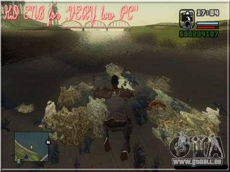 HD ENB for very low PC pour GTA San Andreas troisième écran