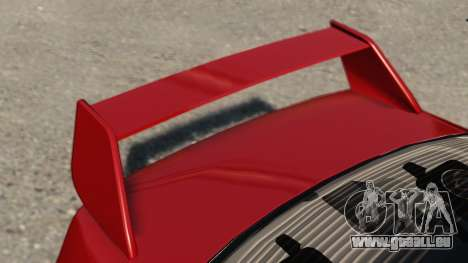 Mitsubishi Lancer Evolution IX pour GTA 4 Vue arrière de la gauche