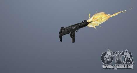 Die Maschinenpistole UZI für GTA San Andreas zwölften Screenshot
