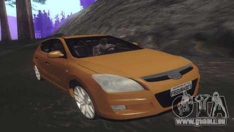 Hyundai i30 pour GTA San Andreas