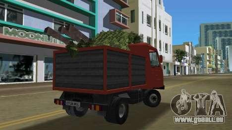 Multicar für GTA Vice City Rückansicht