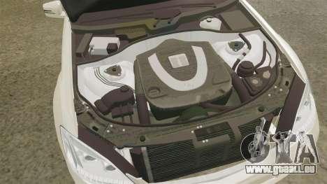 Mercedes-Benz S65 (W221) AMG für GTA 4 Innenansicht