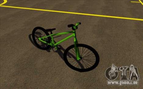Street MTB bike pour GTA San Andreas laissé vue