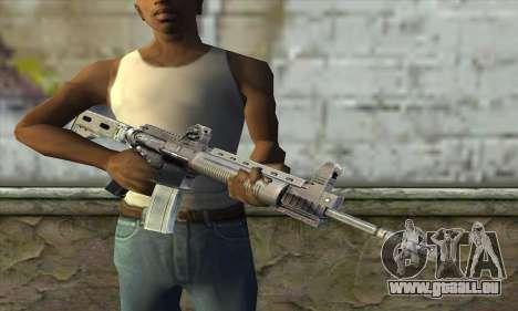M4A1 из S.T.A.L.K.E.R. für GTA San Andreas dritten Screenshot