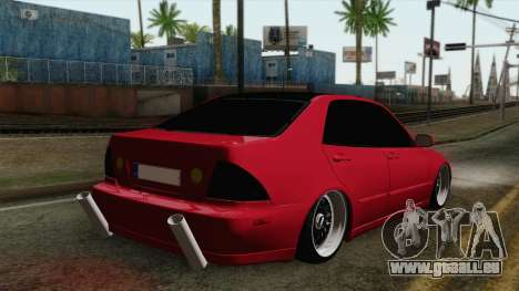 Lexus IS300 Tuning für GTA San Andreas linke Ansicht