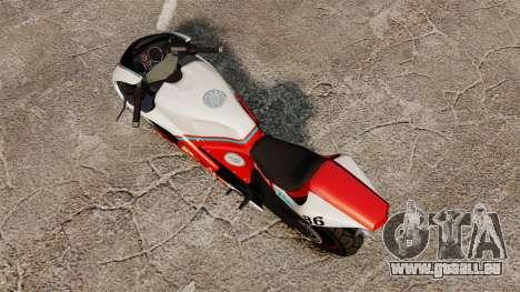 GTA IV TBoGT Pegassi Bati 800 für GTA 4 hinten links Ansicht