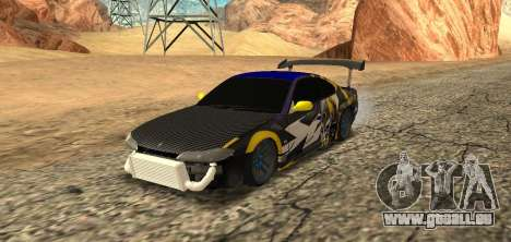 Nissan Silvia S15 Drift Industry für GTA San Andreas