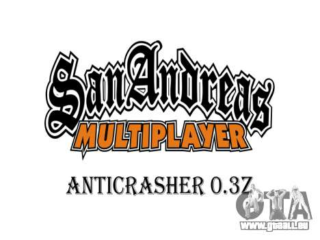 AntiCrasher for SAMP 0.3z für GTA San Andreas