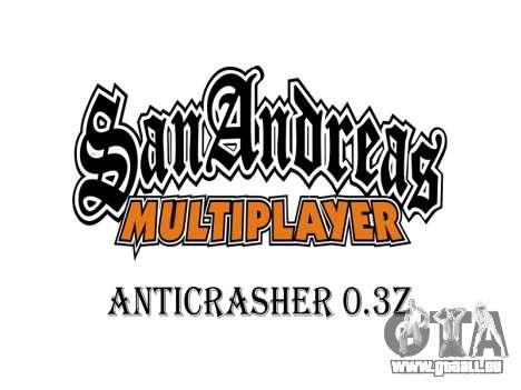 AntiCrasher for SAMP 0.3z pour GTA San Andreas