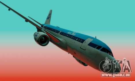 Airbus A319 KLM für GTA San Andreas