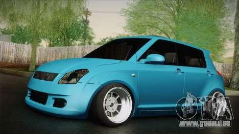Suzuki Swift Hellaflush für GTA San Andreas